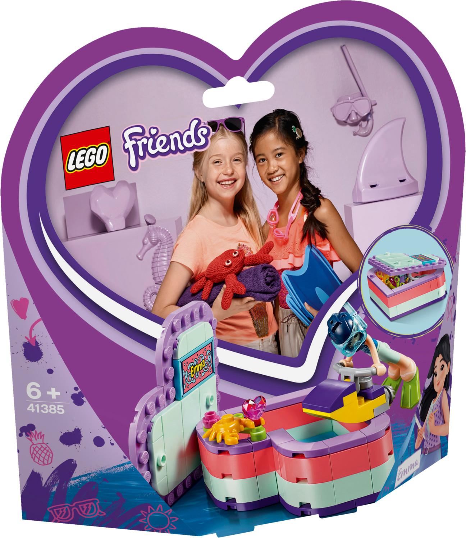 LEGO Friends - Emma's Summer Heart Box (41385)