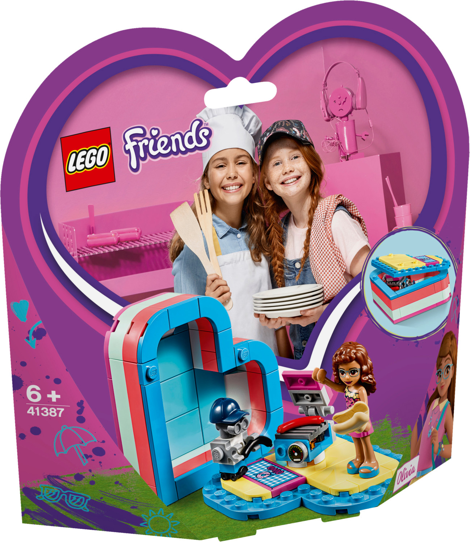 LEGO Friends - Olivia's Summer Heart Box (41387)