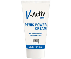Hot V-Activ for Men Penis Power Cream (50ml)