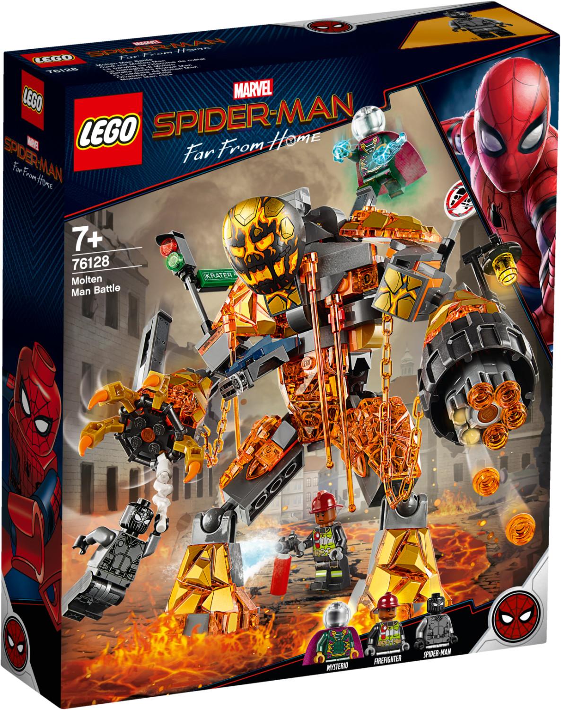 LEGO Marvel Super Heroes - Spider Man et la bataille de l'Homme de métal (76128)