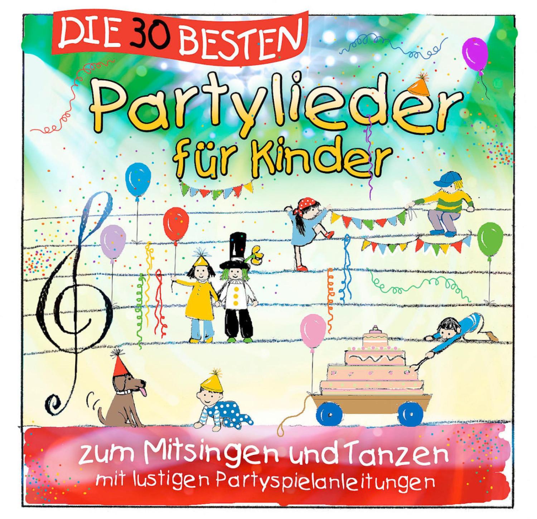 Die 30 besten Partylieder für Kinder (CD)