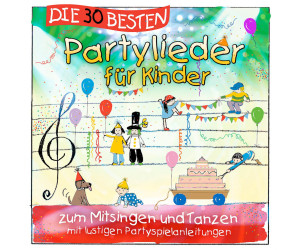 buy die 30 besten partylieder f r kinder cd from. Black Bedroom Furniture Sets. Home Design Ideas