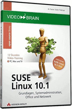 video2brain SUSE Linux 10.1 - Grundlagen, Syste...