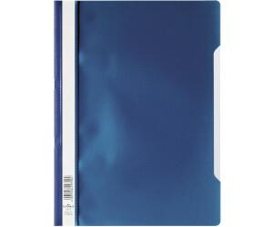 100 Schnellhefter A4 PP farbig sortiert Deckel transparent Plastikschnellhefter