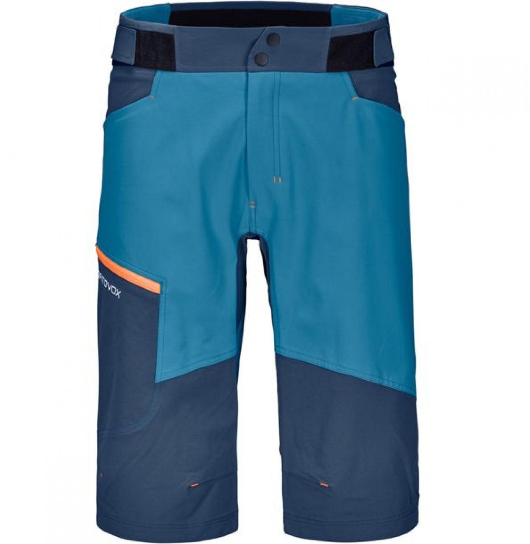Ortovox Merino Pala Shorts Men blue sea