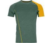 green forest blend Ortovox 120 COOL TEC PUZZLE T-SHIRT M Farbe
