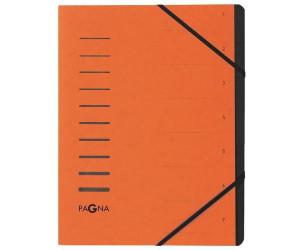 "grün PAGNA Ordnungsmappe /""Sorting File/"" 12 Fächer"