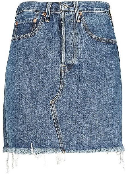 Levi's Deconstructed Skirt (77882) indigo/medium indigo