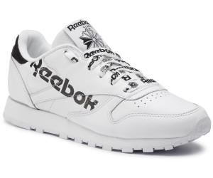Reebok CL LTHR Double Sneaker schwarzweiß