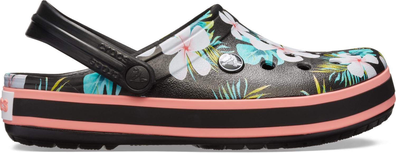 Crocs Crocband Seasonal Graphic Clog black/floral