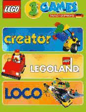 LEGO: 3 Games - Creator + LEGOland + Loco (PC)