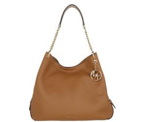 Michael Kors Lillie Large Pebbled Leather Shoulder Bag acorn
