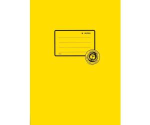 HERMA Heftschoner Hefteinband DIN A4 DIN A5 gelb rot pink blau grau Buchschoner