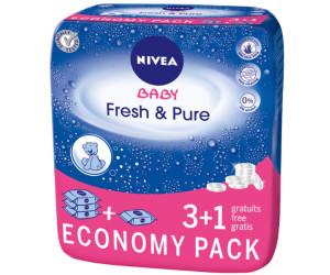 Nivea Baby Fresh & Pure Feuchttücher (4 x 63 Stück)