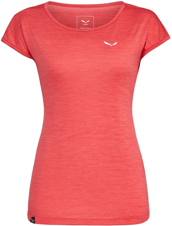 Salewa Puez Melange Dry'Ton T-Shirt rouge red melange