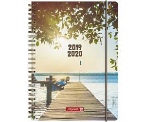 Brunnen Schülerkalender A5 Skull 1Woche//2Seiten 2019//2020