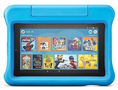 Image of Amazon Fire 7 Kids Edition Blue (2019)