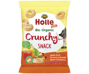 Holle Crunchy Snack Apfel-Zimt (25g)