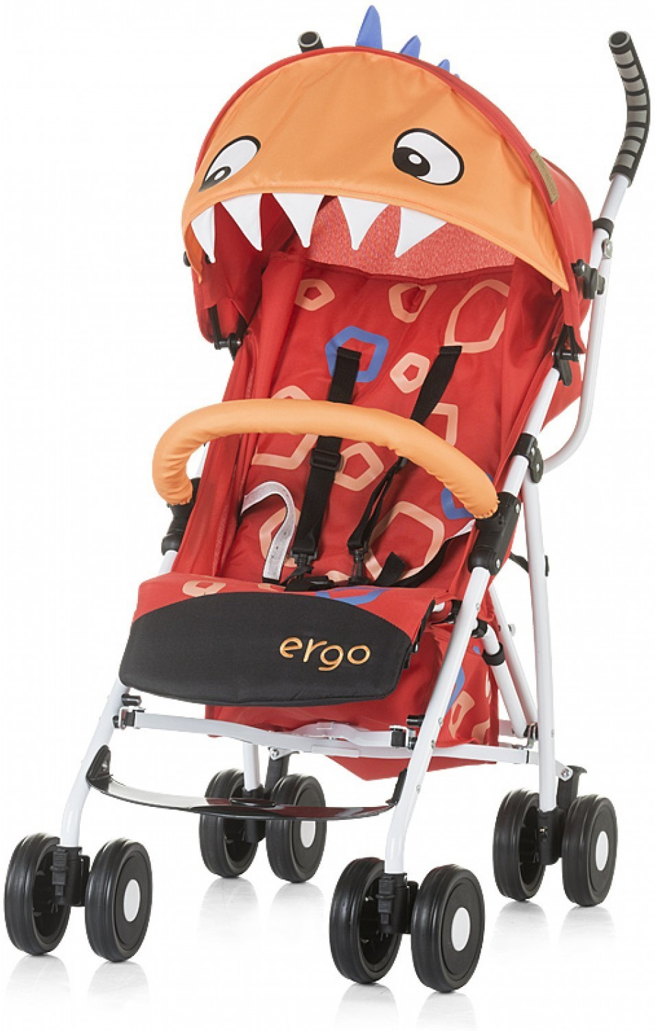 Chipolino Silla de paseo Ergo Red Baby Dragon