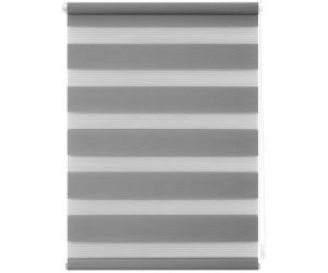 Lichtblick Klemm-Doppelrollo ohne Bohren 80x200cm grau