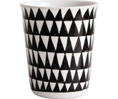 ASA Selection Coppetta Becher Espresso Kaffeetasse Tasse Ton Big Stripes 100 ml