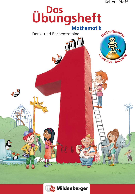Image of Das Übungsheft Mathematik 1 Denk- und Rechentraining (Peter Pfaff)