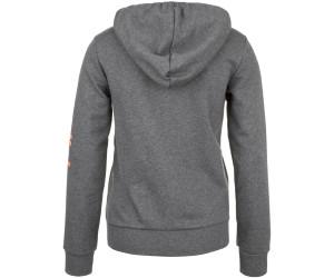 Adidas Women Essentials Linear Full Zip Hoodie dark grey