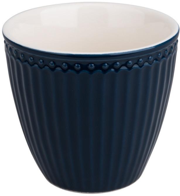 Greengate Alice Latte Cup dark blue 0,3 cm