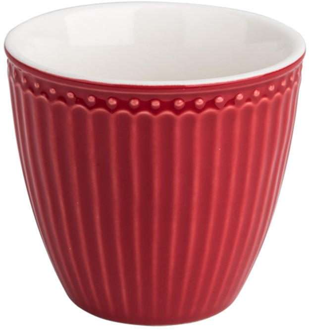 Greengate Alice Latte Cup red 0,3 l