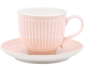 Greengate Alice Tasse mit Untertasse pale pink 8,5 cm (pink)