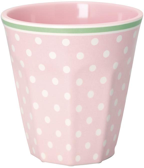 Greengate Spot Becher pale pink 9 cm