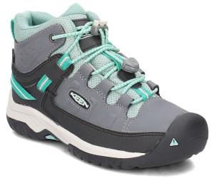 sports shoes bd734 126ea Keen Targhee Mid WP Kids steel grey/wasabi ab 65,00 ...