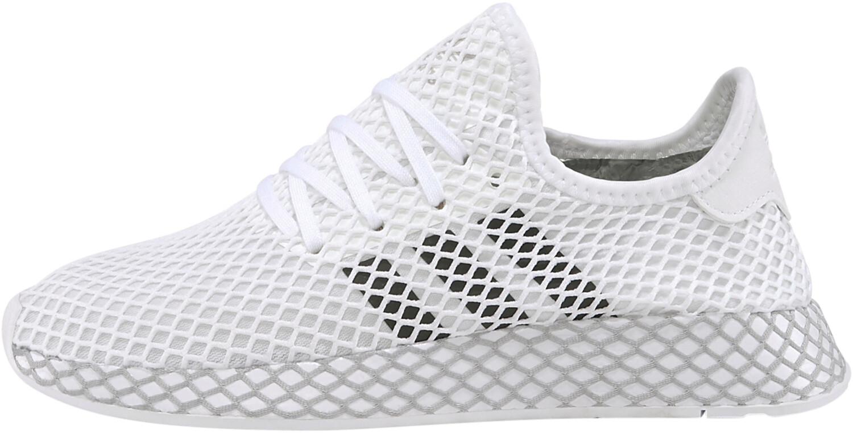 Adidas Deerupt Runner J ftwr white/core black/grey two