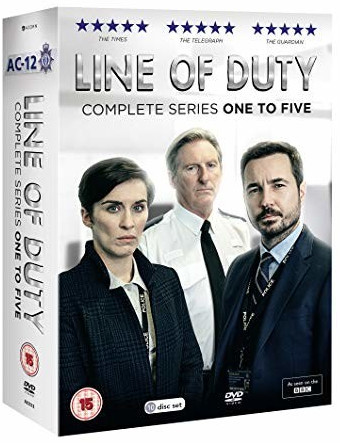 Image of Line of Duty: Series 1-5 (DVD)