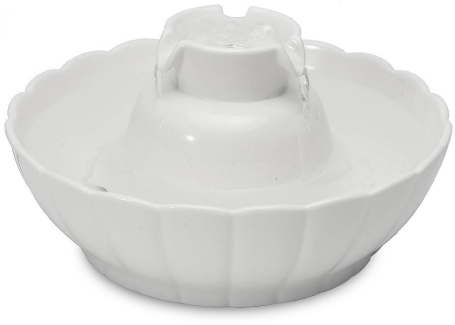 PETGARD Trinkbrunnen Lotus Aura 2,1L weiß