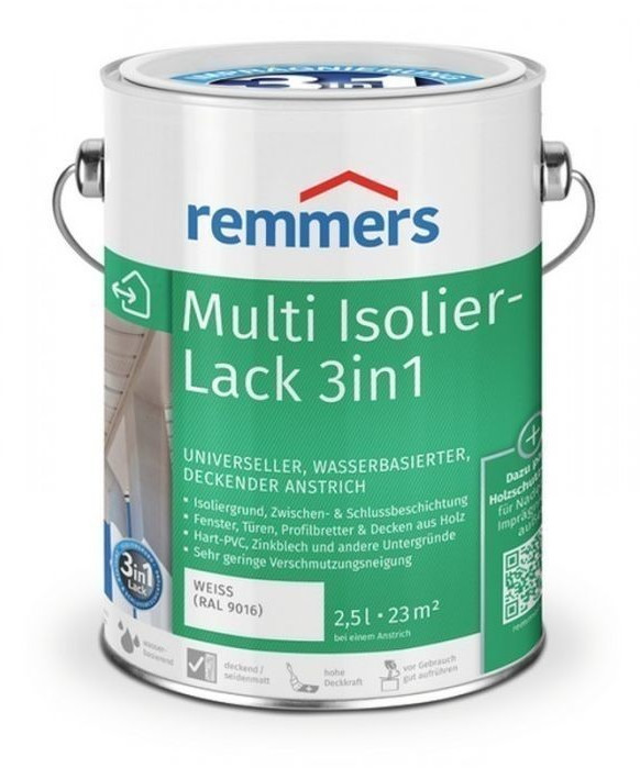 Remmers Multi-Isolierlack 3in1 weiß 2,5 l