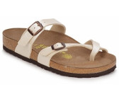 Birkenstock Mayari Birko Floraceful Pearl White (normal) ab