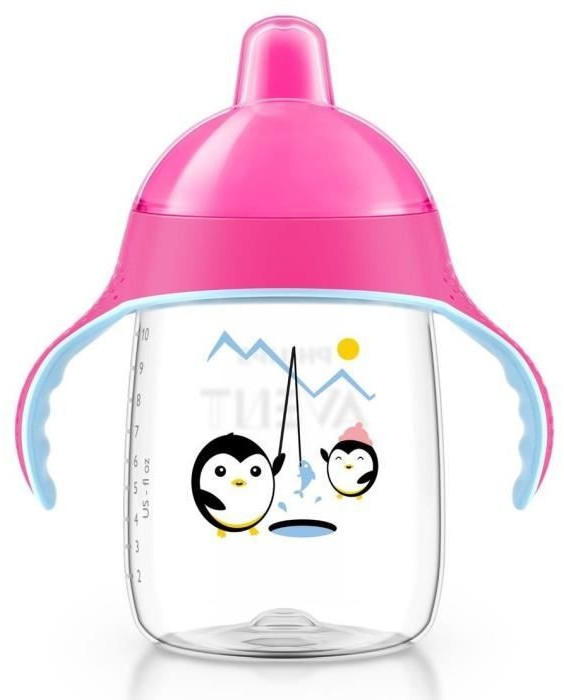 Philips AVENT Sip - No Drip Pink 340 ml