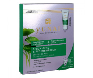Medipharma Yunai beruhigende Tuchmaske + Serum