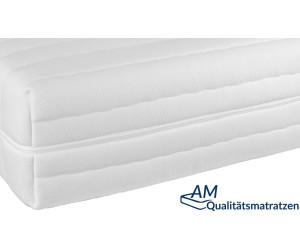 AM Qualitätsmatratzen Hochwertiger Matratzenbezug Tencel 80 x 200 x 21 cm