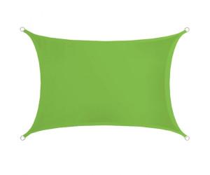 Amanka Rechteck PES 3 x 2 m grün