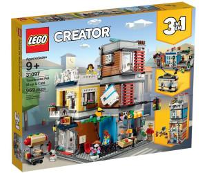 LEGO Creator - Stadthaus mit Zoohandlung & Café (31097)