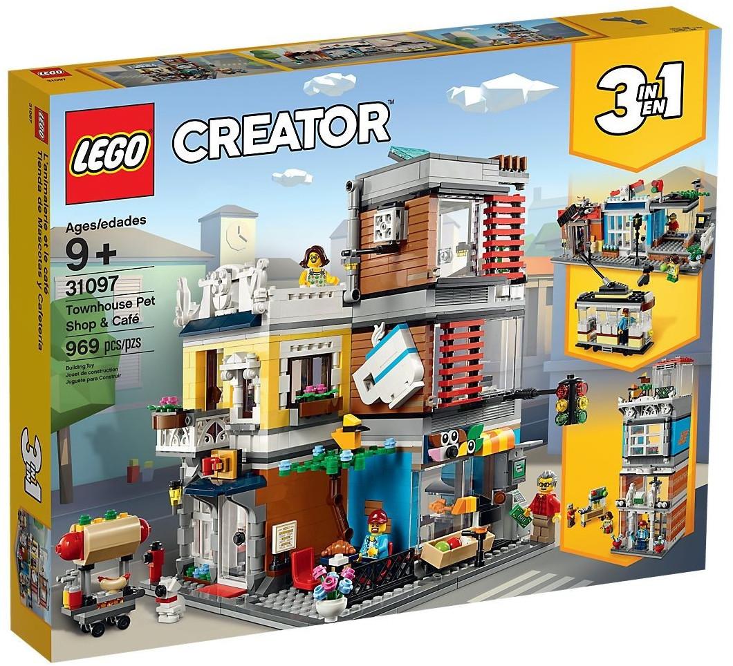 LEGO Creator - L'animalerie et le café (31097)