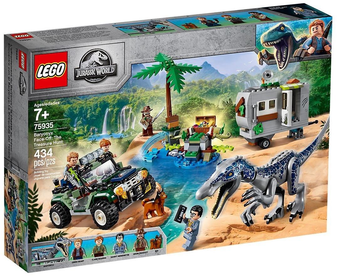 LEGO Jurassic World - L'affrontement du baryonyx : la chasse au trésor (75935)