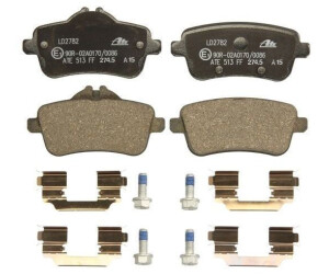 Original ATE 13.0470-2749.2 Ceramic Bremsbeläge Bremsbelagsatz für VW