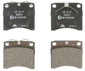Bremsbelagsatz Scheibenbremse für Bremsanlage Vorderachse ATE 13.0460-2973.2