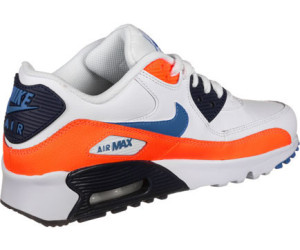 Buy Nike Boys' Air Max 90 Leather (gs) Whitephoto Blue