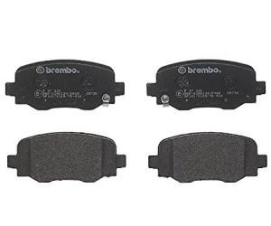 Brembo Bremsbelagsatz Scheibenbremse P37020 für JEEP