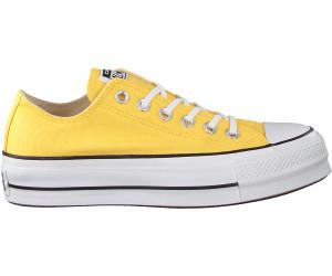 CONVERSE Chuck Taylor All Star Lift Women's Yellow Butter Shoes