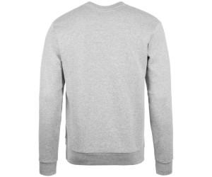 Converse Men Star Chevron Embroidered Crew grey heather ab